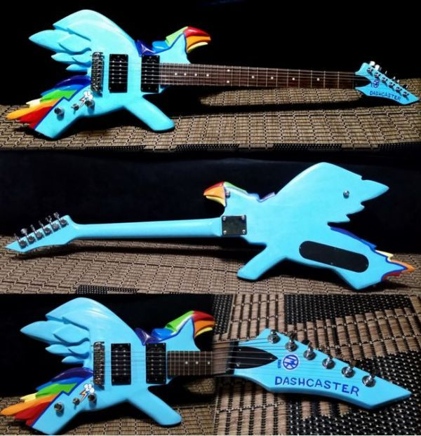 My Little Pony Electric Guitar - Neatorama