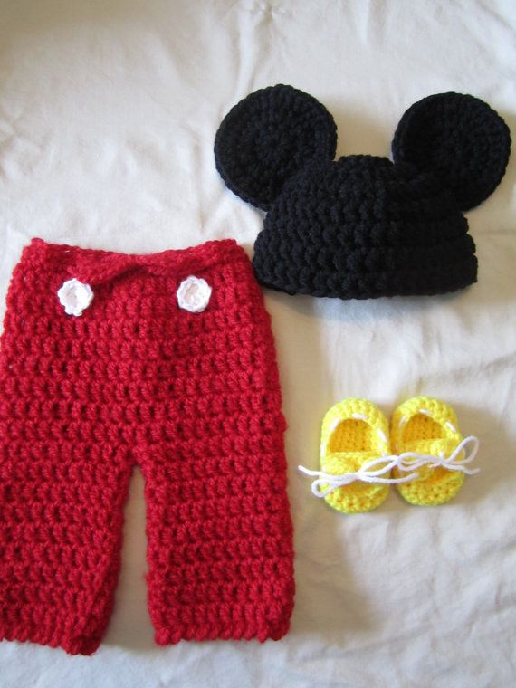 Newborn Photography accessories Props Mickey Mouse clothes Baby ... | 760x570