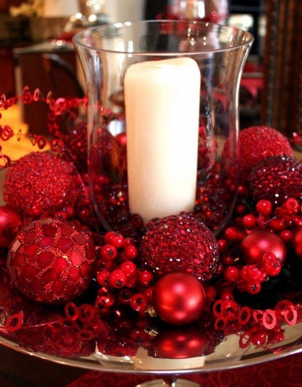 Christmas Decor Ideas For Next Year Christmas Red Christmas Decor Holiday Centerpieces Christmas Table Decorations
