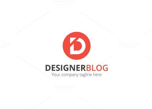 Letter D Logo Letter Logo Design Lettering Logo Design Template