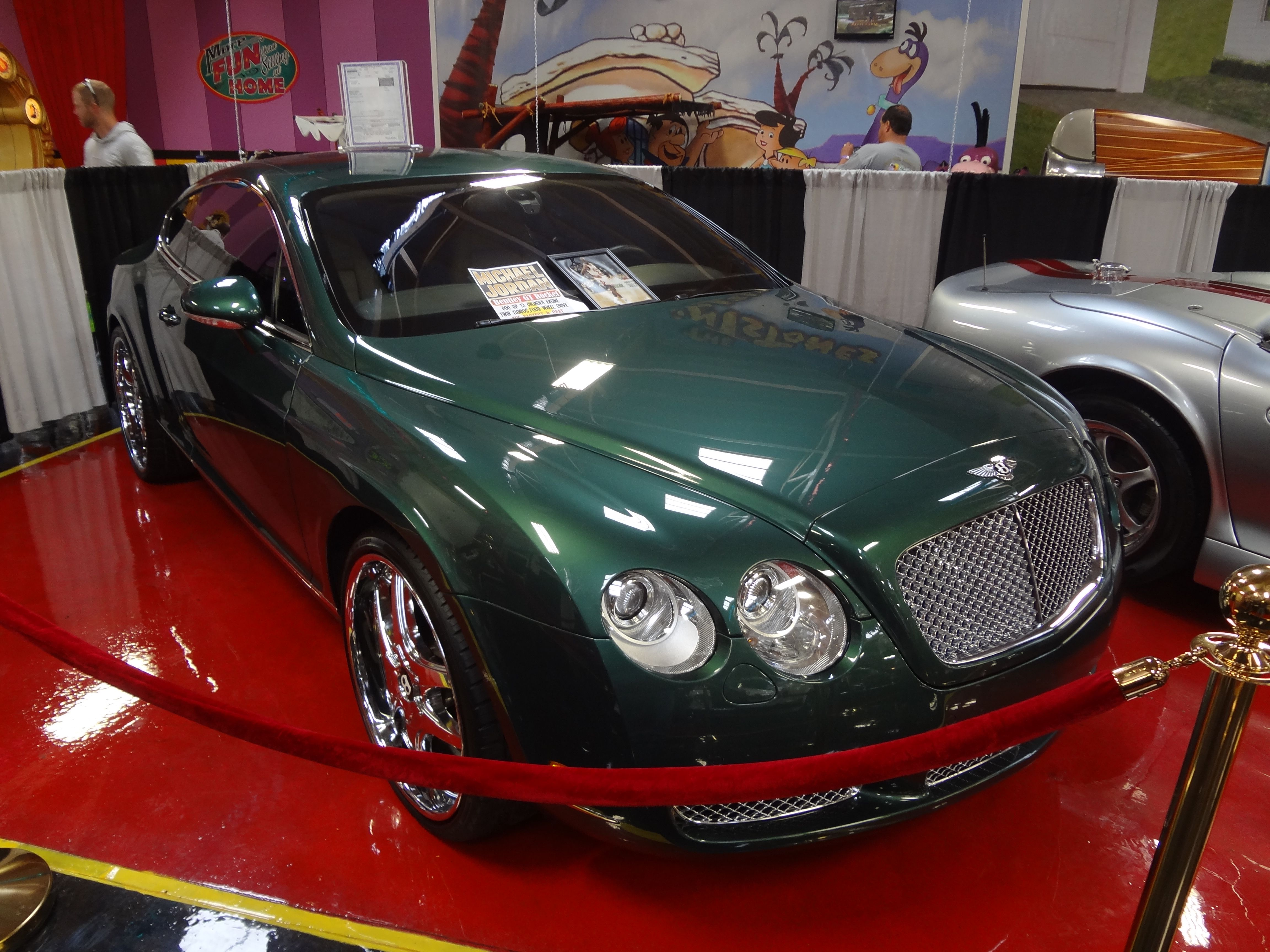 Michael Jordon\'s car in the new Exhibit at the Volo Auto Museum ...