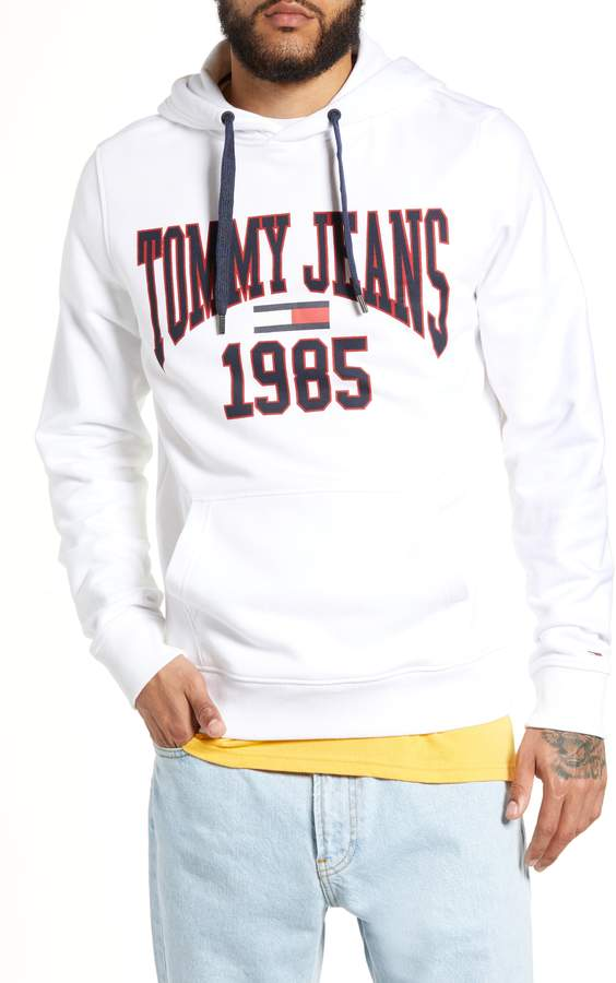 8bc85e72 Tommy Jeans Embroidered Crest Logo Hoodie | Products | Crest logo ...
