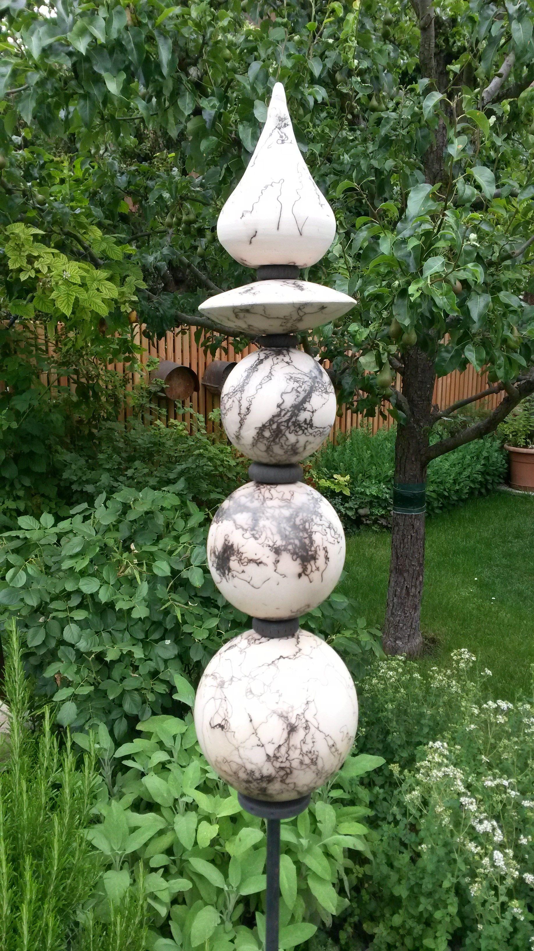 Pferdehaartechnik Mosaik Gartenkunst Gartenskulptur Gartenskulpturen