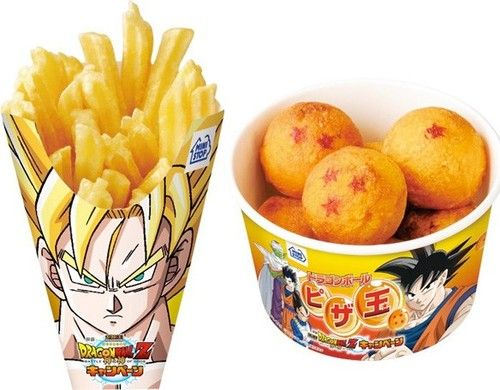 goku on french fries - Google Search