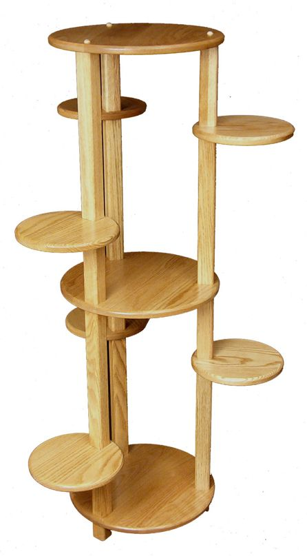 Large Multi Tiered Plant Stand Amish Furniture Factory