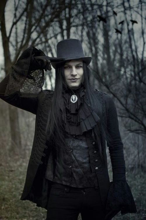 Image result for goth guys