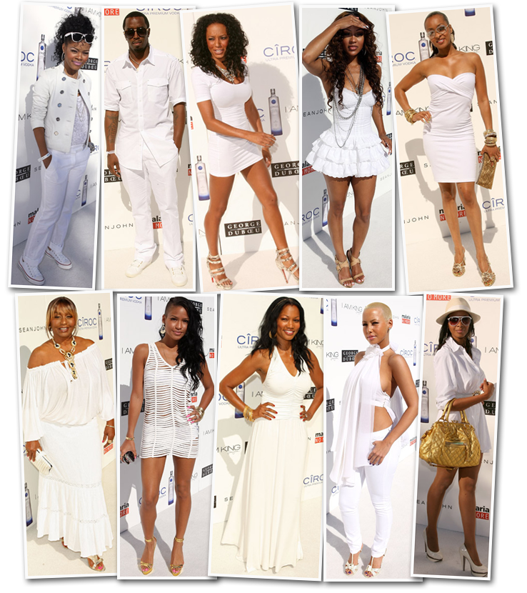 Cute white dresses for a all white party