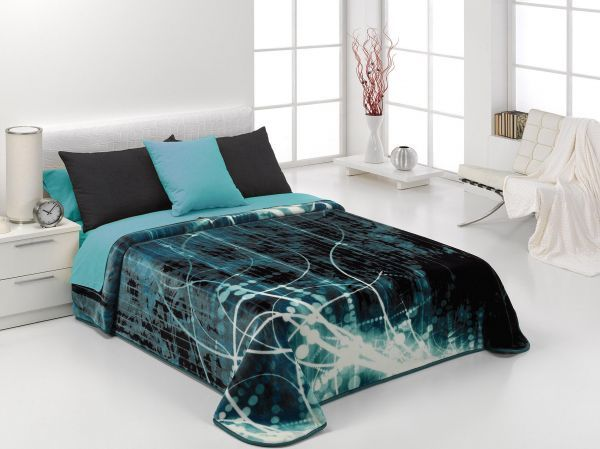 Blanket By Mora Surfer Ion Double Size 220 240 Couvre