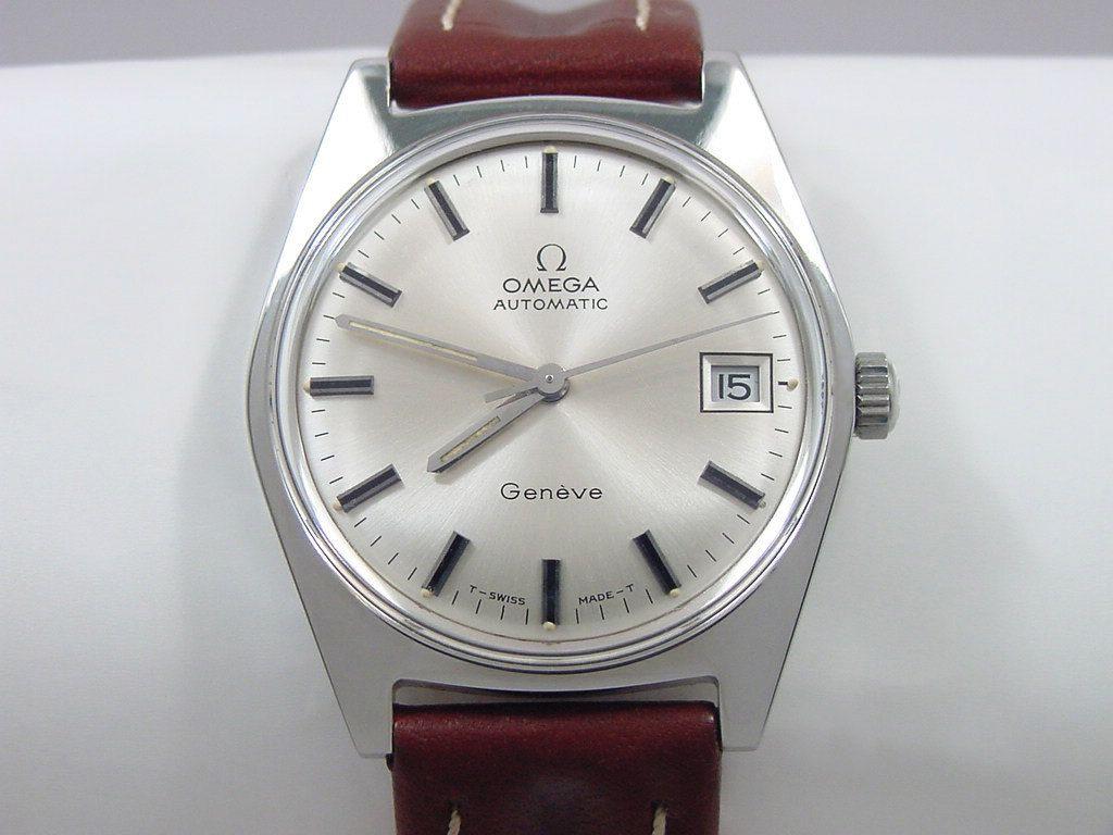 1971 omega geneve automatic mens omega