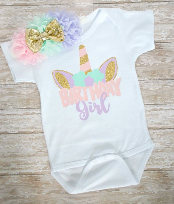 3e97d5e7d Unicorn Birthday Shirt - Unicorn Birthday Outfit - Unicorn Birthday ...