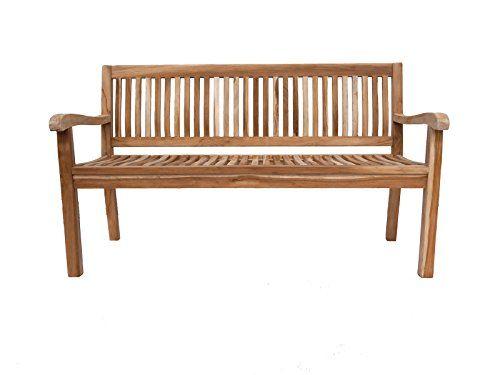 sam teak holz 3 sitzer gartenbank sitzbank 150 cm kingsbury sam gartenb nke g nstig online. Black Bedroom Furniture Sets. Home Design Ideas