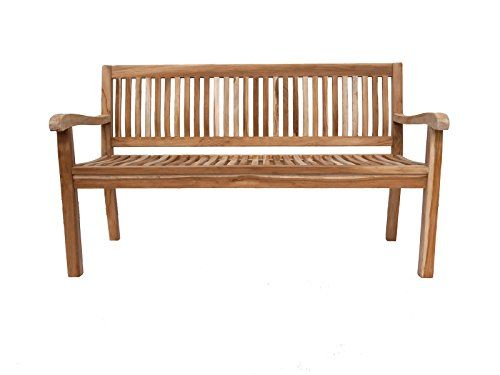 SAM® Teak Holz 3 Sitzer Gartenbank Sitzbank 150 cm Kingsbury SAM ...