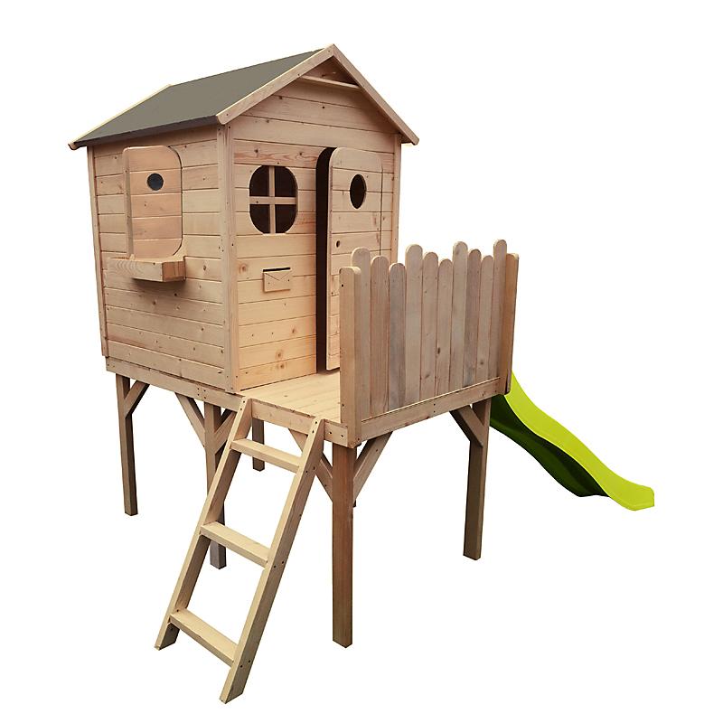 Maisonnette De Jardin En Bois Enfant A Prix E Leclerc Maison
