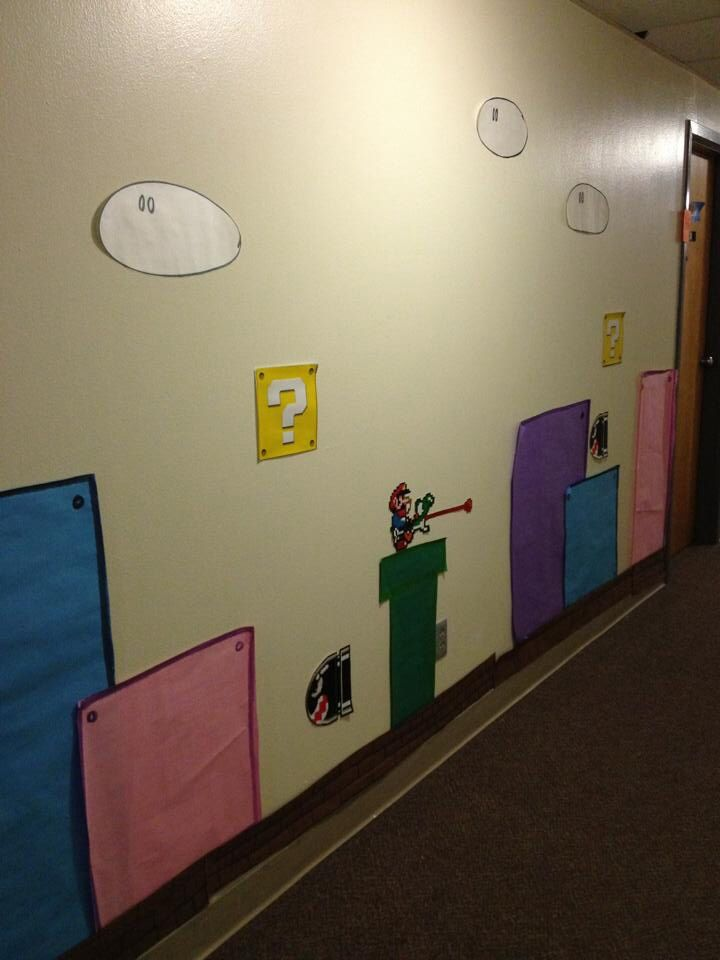 Maybe Go For Round Two Of Mario Decorating Dorm