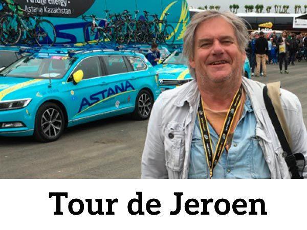 Volg de Tour-column van Jeroen Wielaert in Champagne-Ardenne