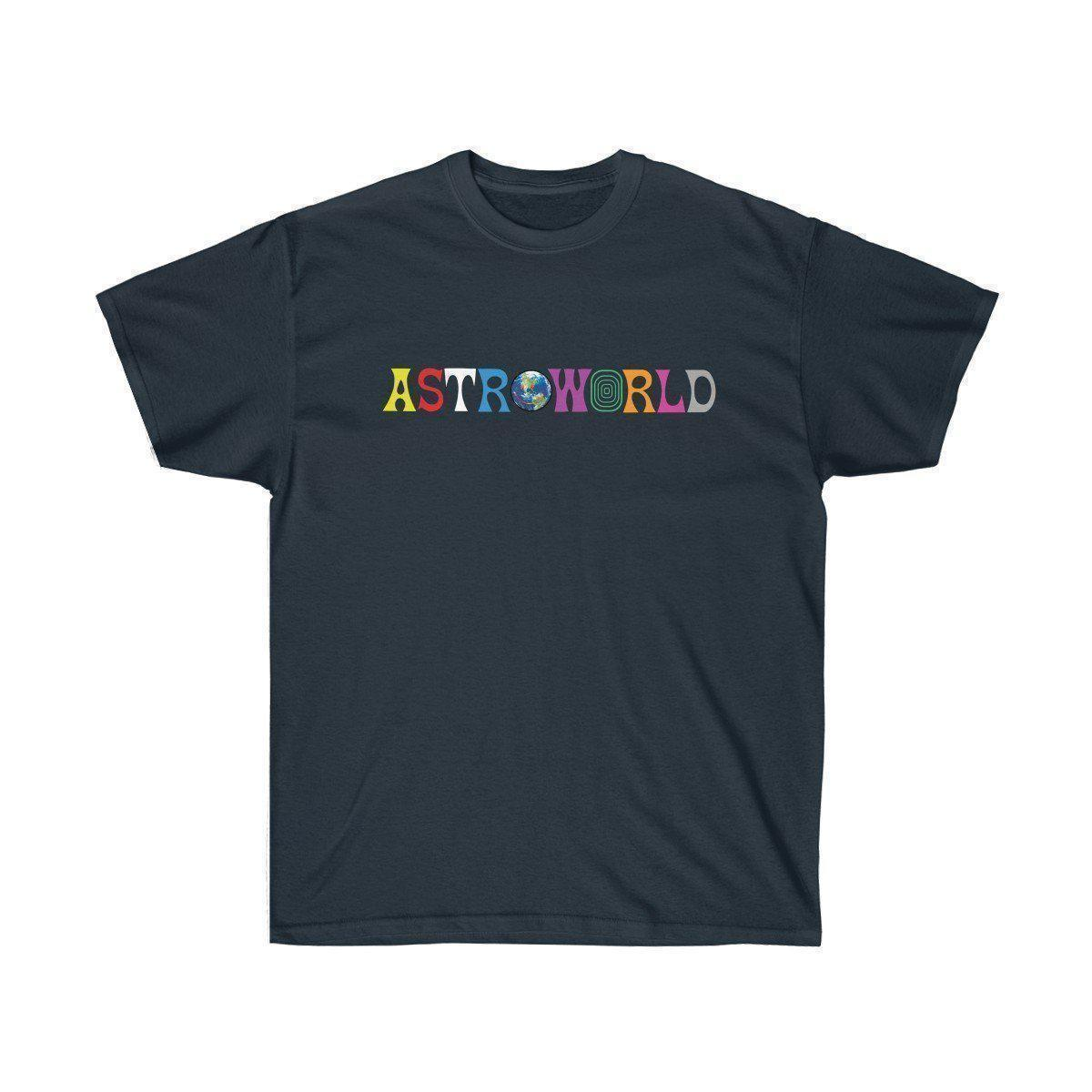 28cb9ac290c7 AstroWorld Travis Scott tour album merch inspired Unisex Ultra Cotton Tee