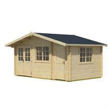 4.85m x 3.00m Borkum 4 Log Cabin