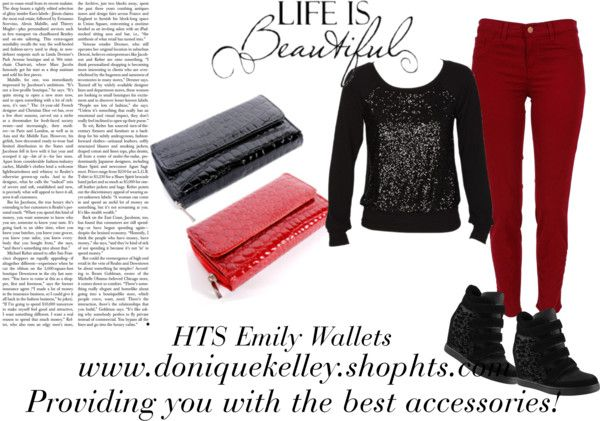 """Black & Red"" by believekelley on Polyvore"