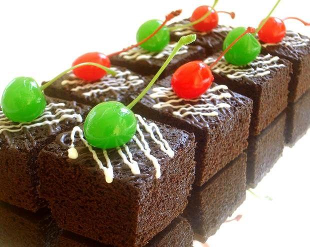 Resep Cake Kukus Labu Kuning Lapis Coklat: Resep Kue Brownies Kukus