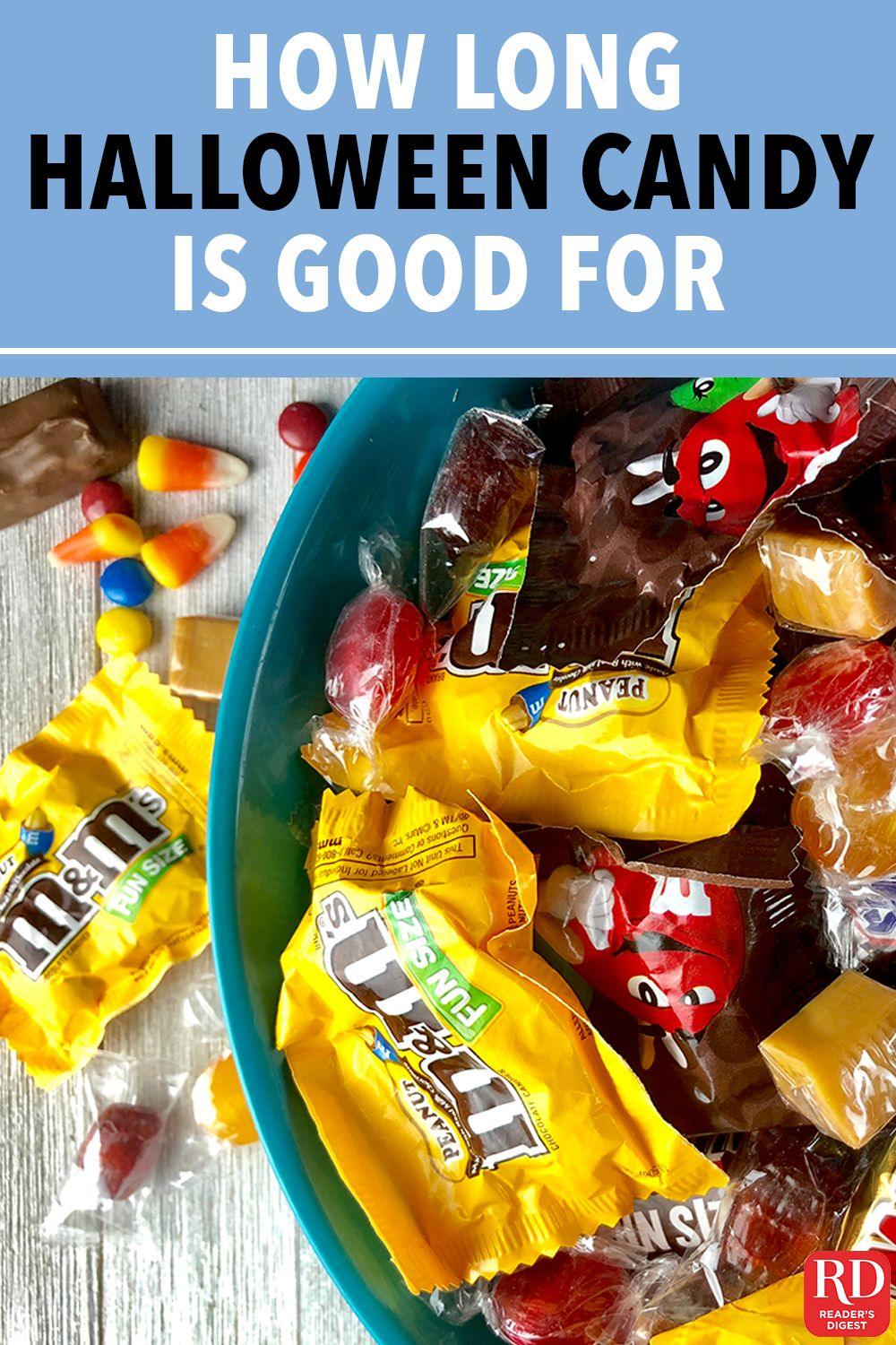 Here's When You Should Toss Your Extra Halloween Candy