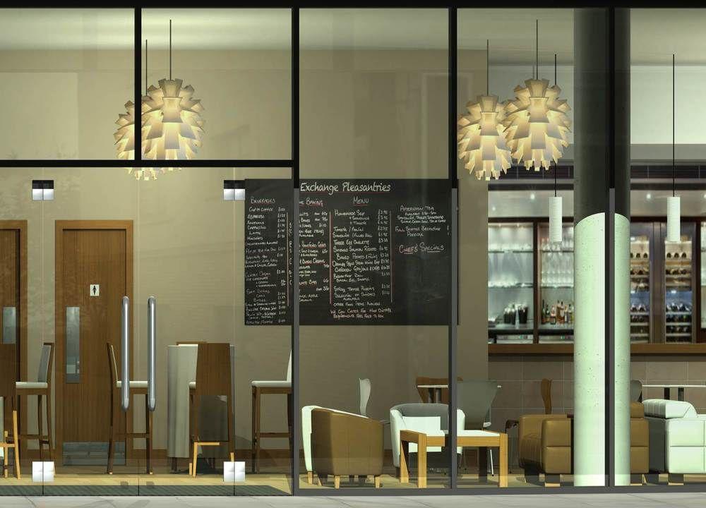 Projects Coffee Shop Shop Window Design Restaurant Stools