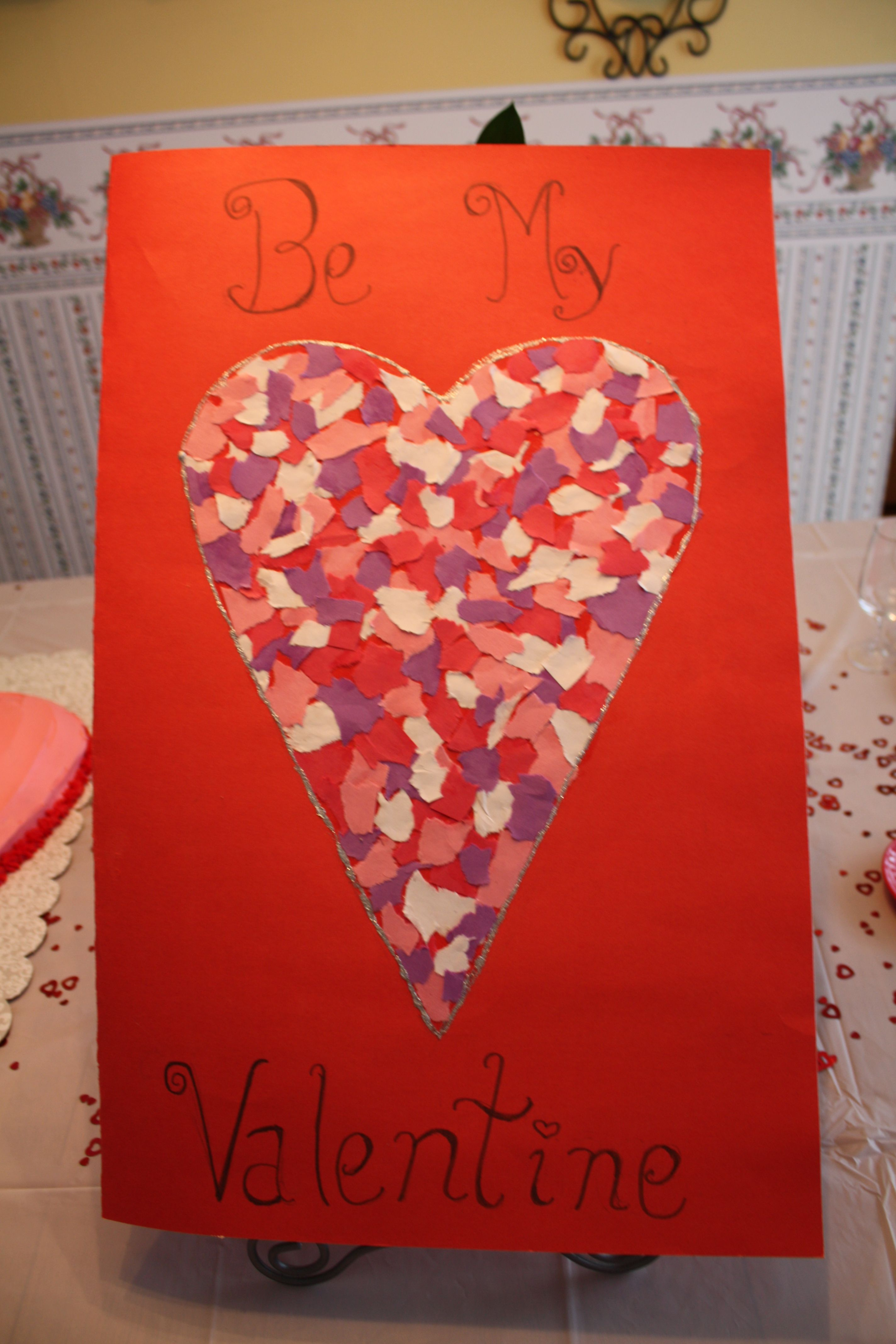 Homemade Valentines Cards With Doilies Diy Valentines Day