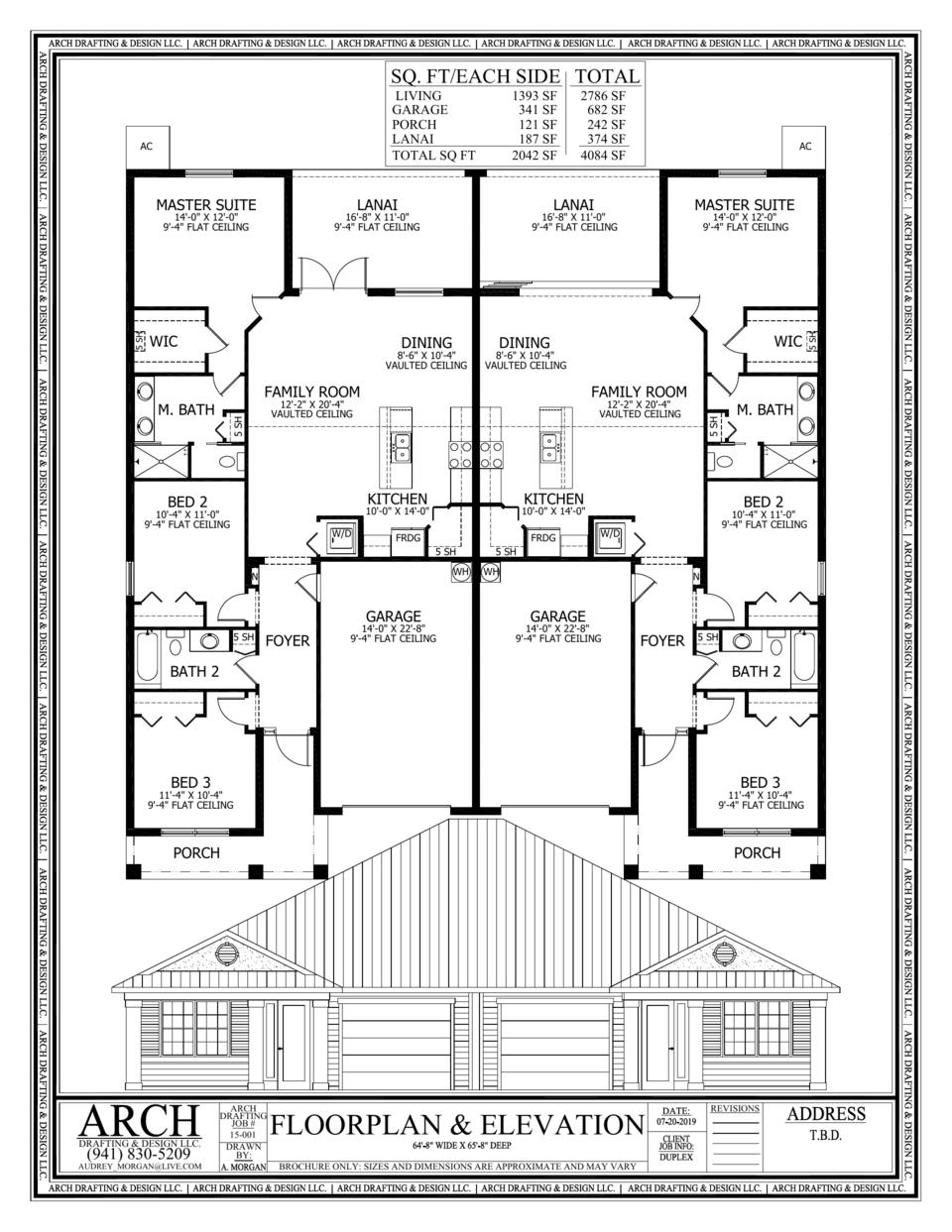 Twin Villa Villa Plan Villa Master Suite