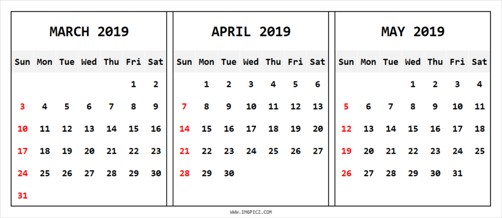 march april calendar 2019 - Monza berglauf-verband com