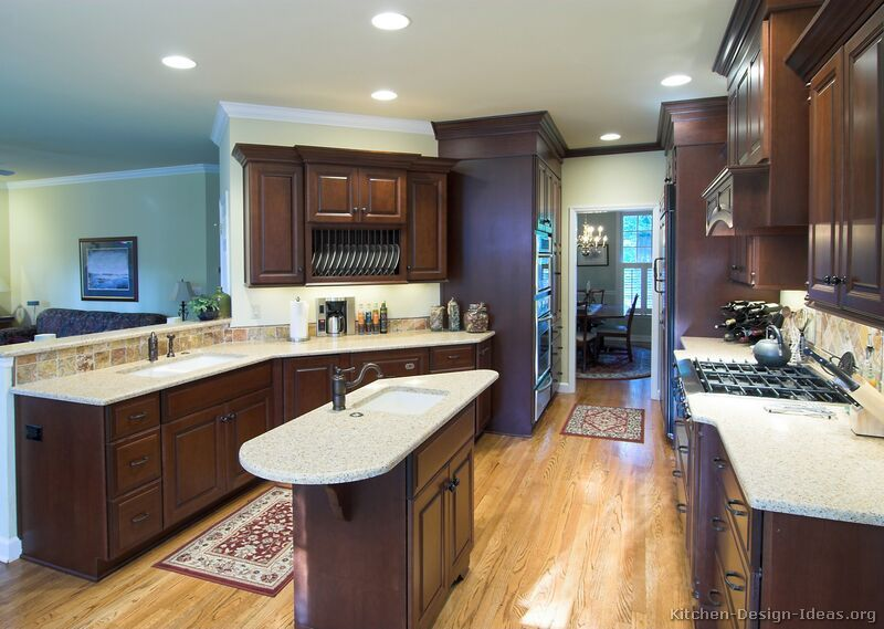 Beautiful Dark Kitchens 90 best cherry color kitchens images on pinterest | pictures of