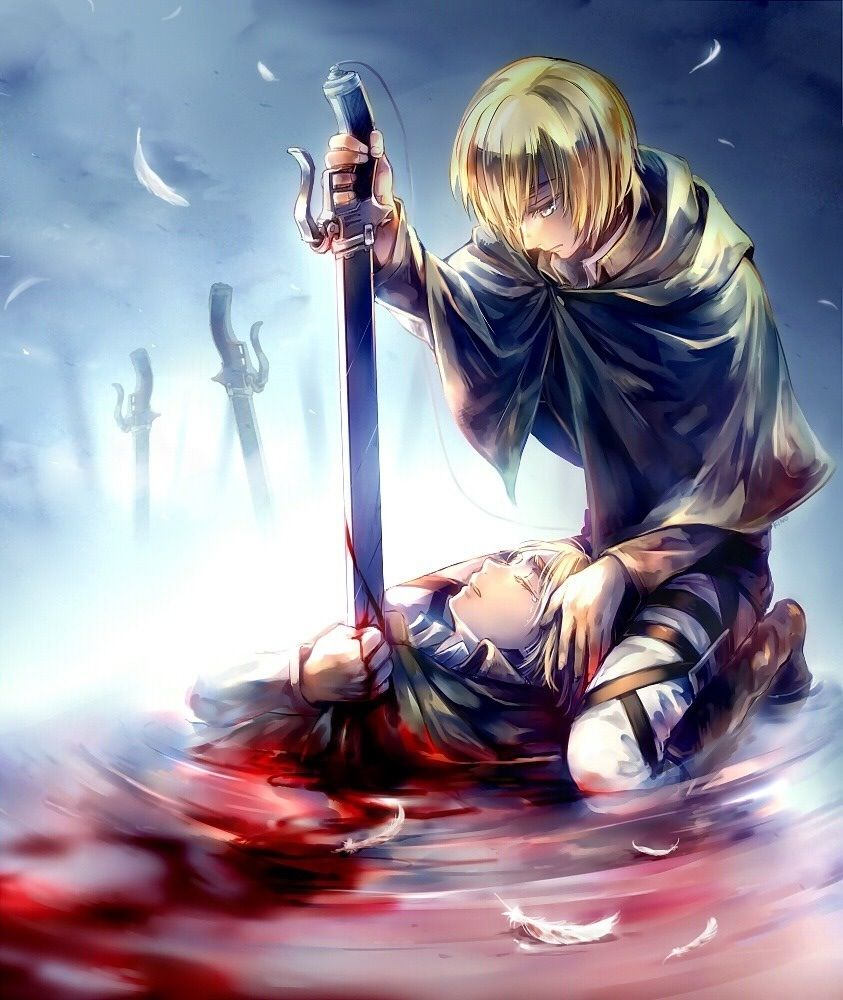 Armin Arlert To Rise Above Monsters We Need To Abandon