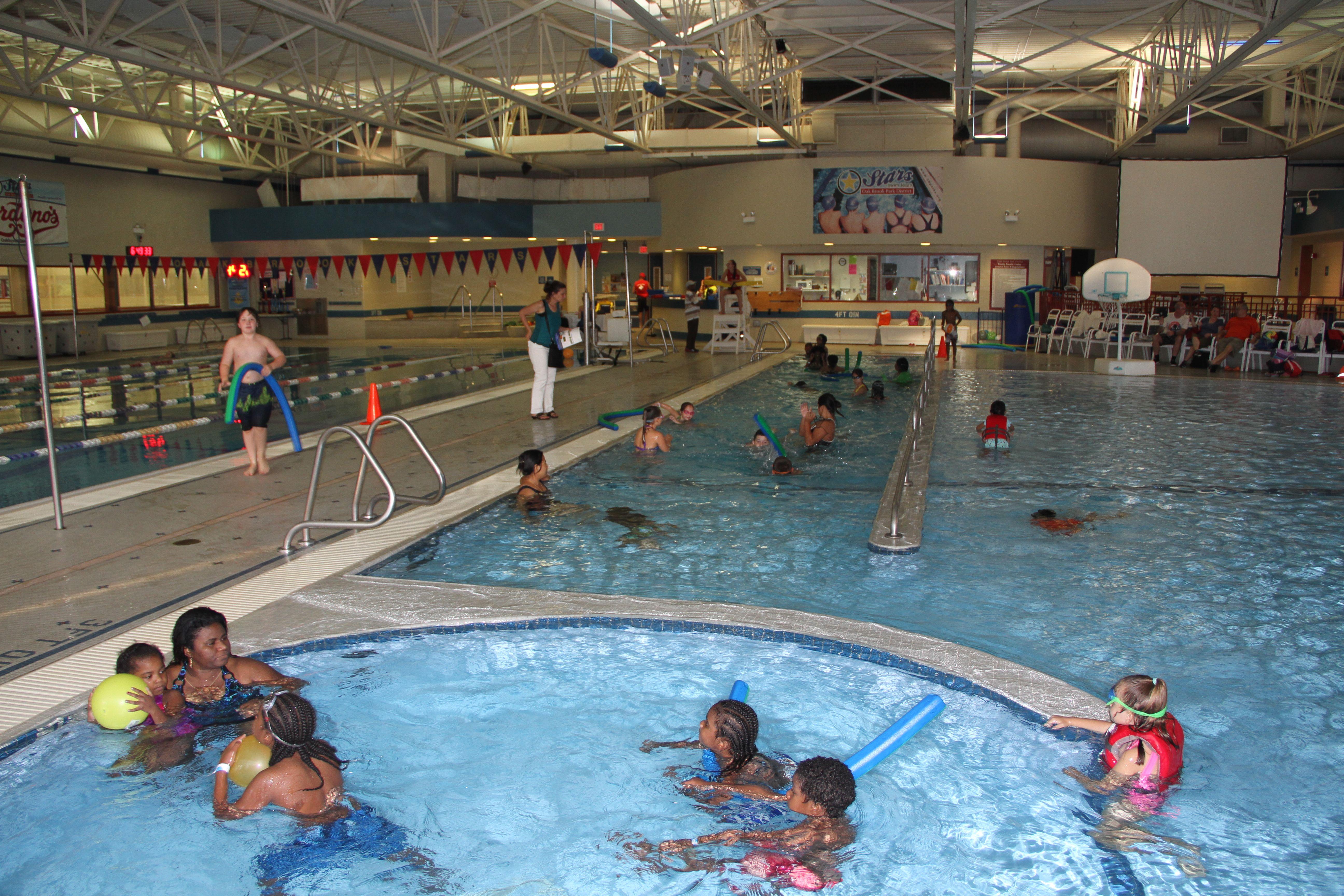 Free Oak brook aquatic center coupon