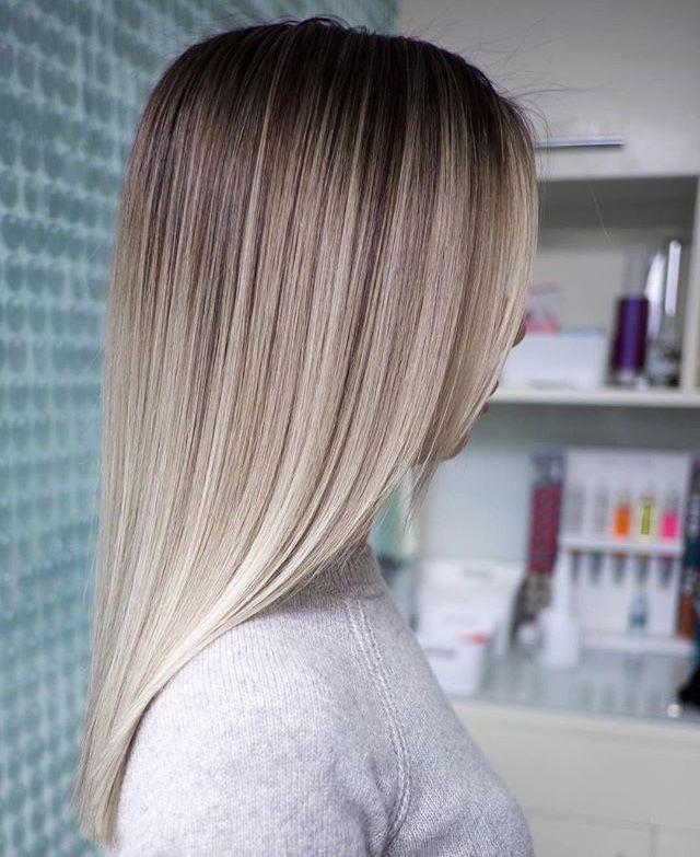 Vanille Farbe! 😍😍😍😍 Aber immer mit Eisen Toplissim geglättet! Ÿ … –  #aber #eisen #farbe #g… – Hair Colors Blonde Ideen