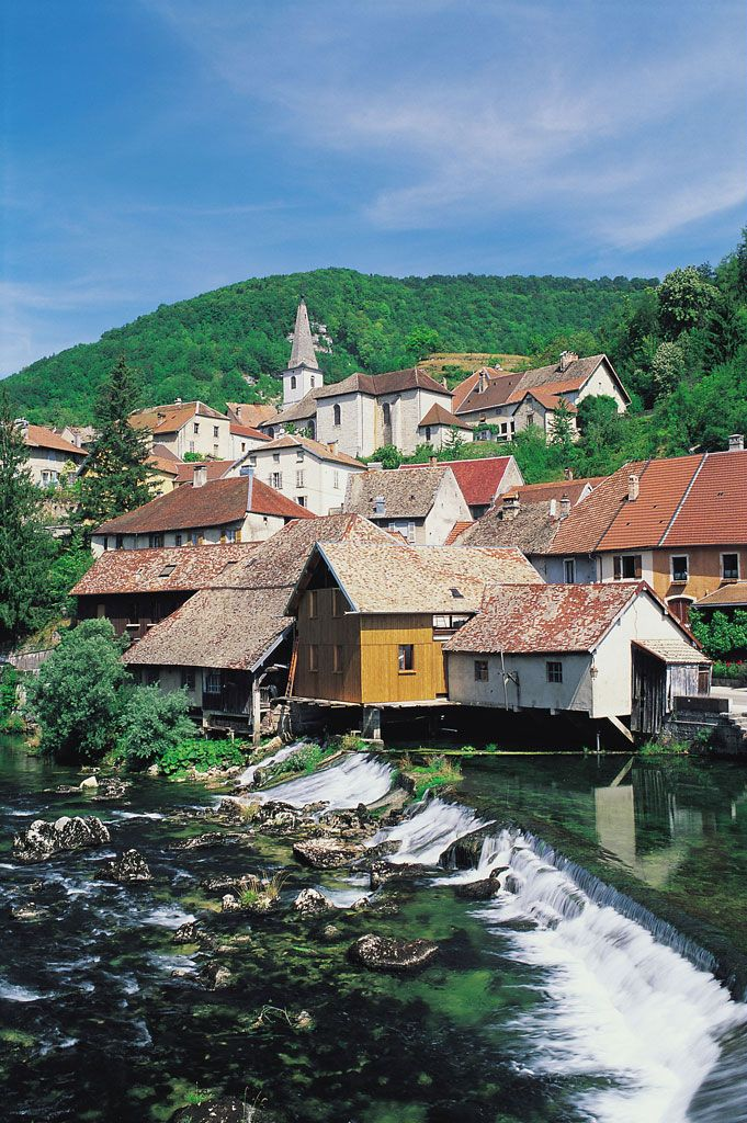 Lods Montagnes Du Jura Territoire De Belfort Voyage En France Jura