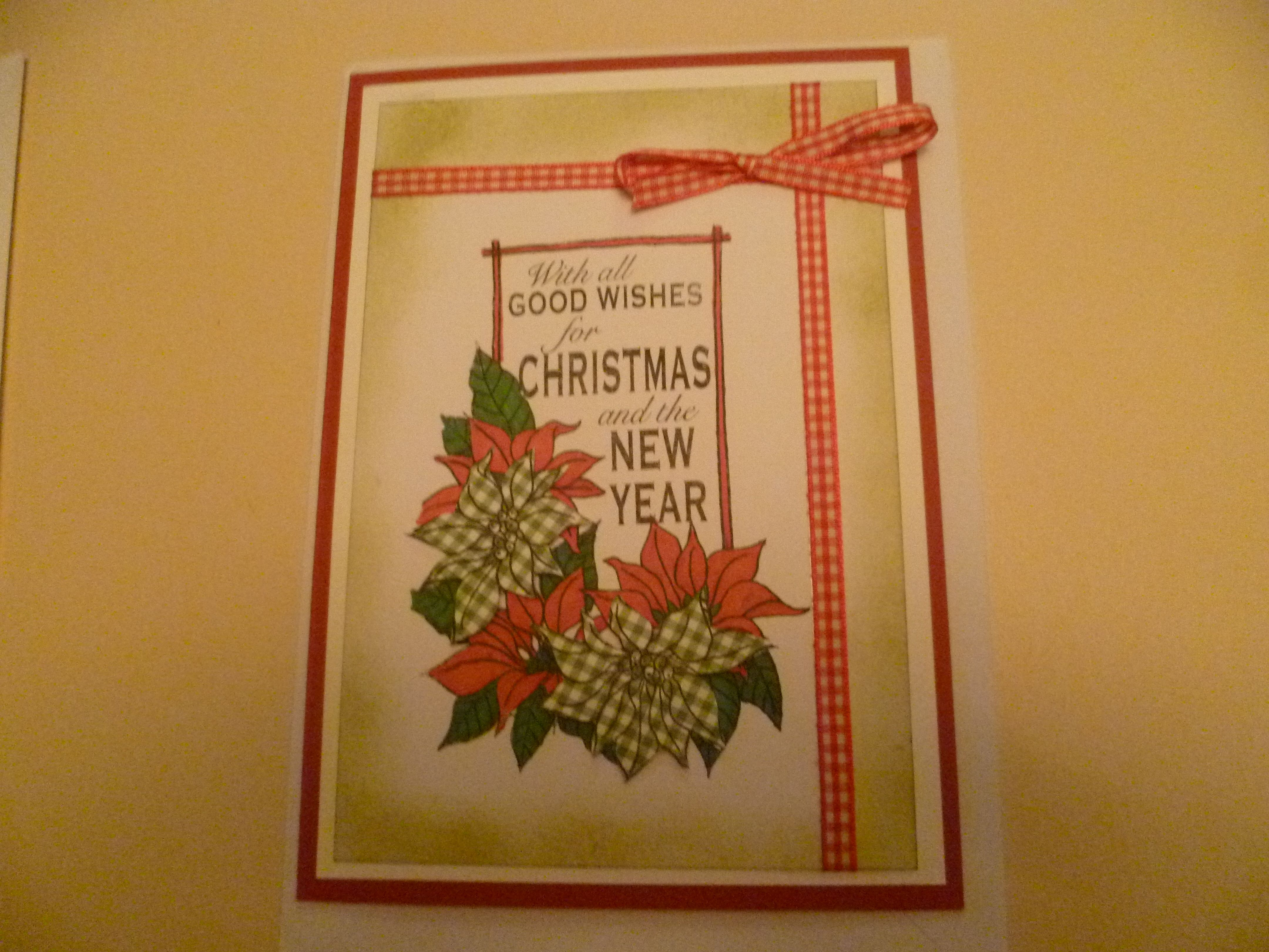 large christmas card | hand-made cards, Tags etc..... | Pinterest ...