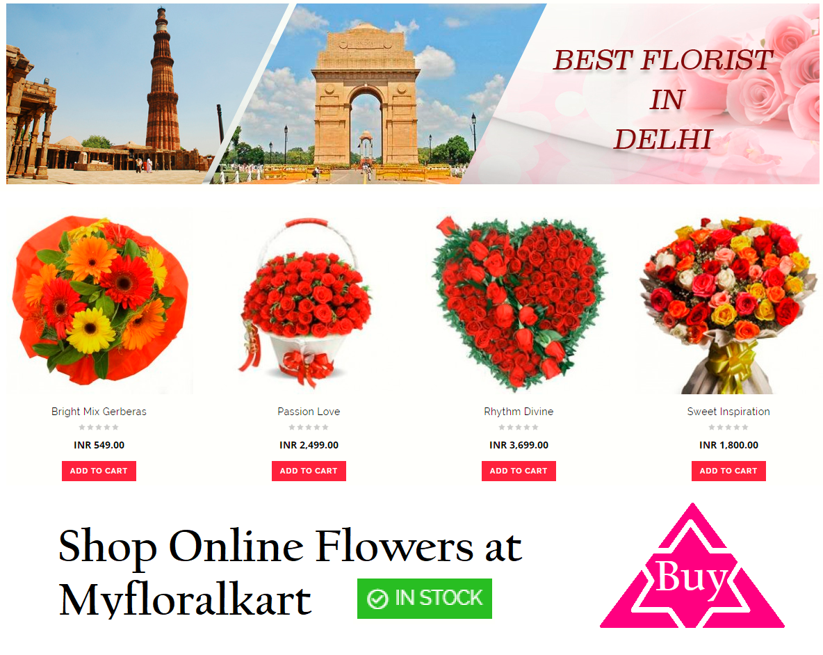 Myfloralkart fulfills your wish of sending flowers and