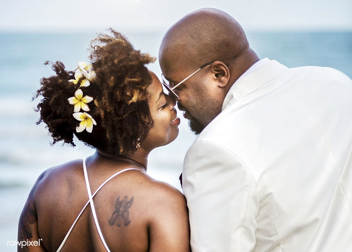 Download Premium Image Of African American Couple Getting Married