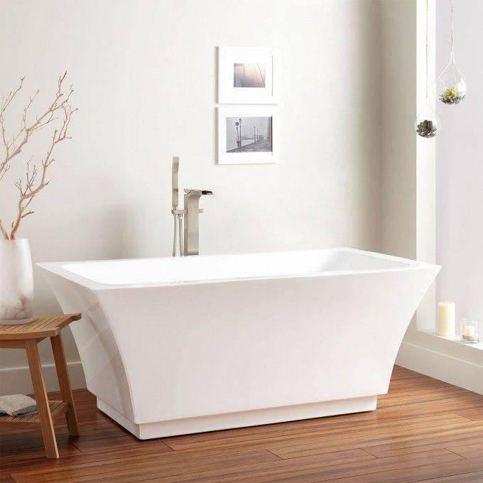 Leland Acrylic Freestanding Air Tub | Freestanding tub, Tubs and Air tub