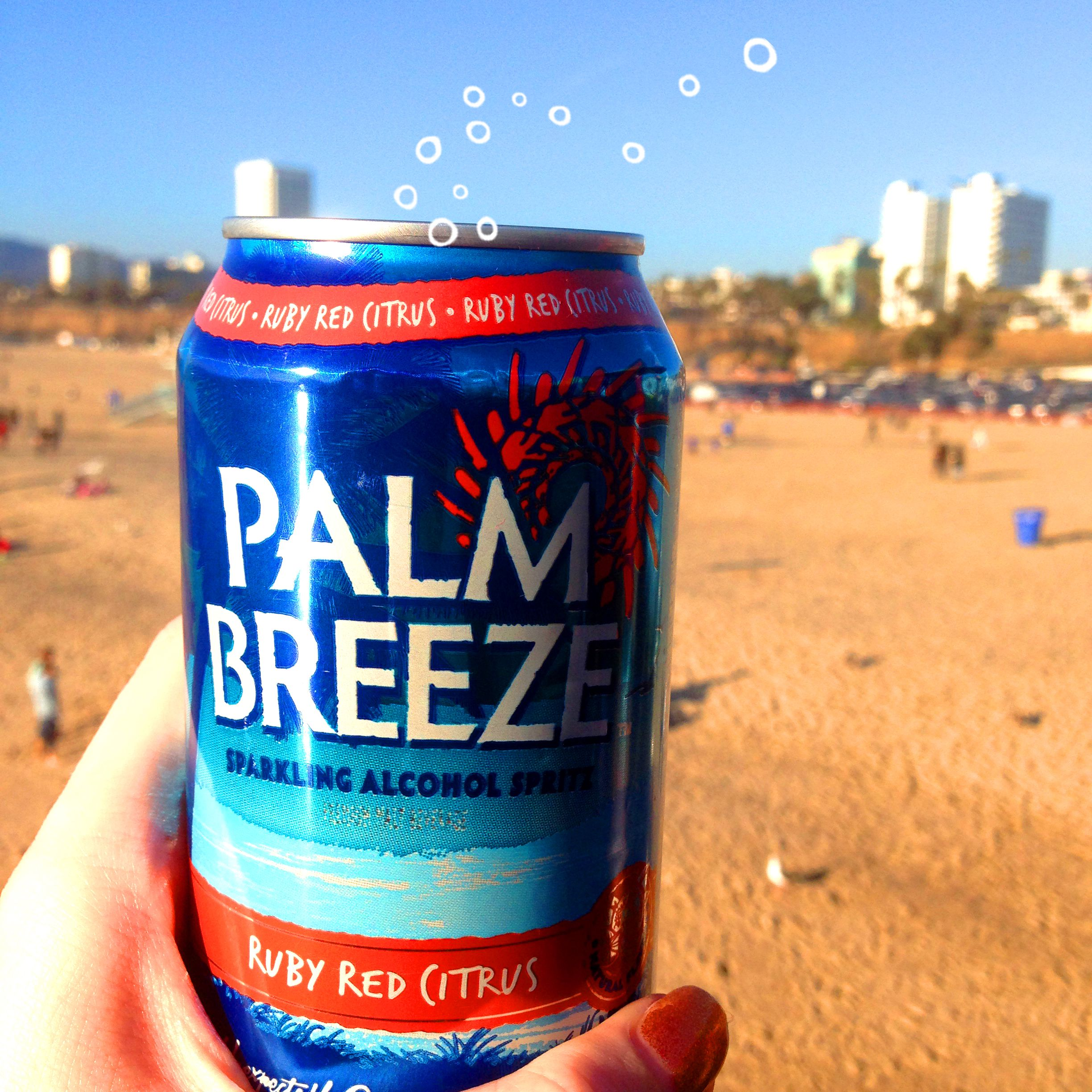 Unwind Time! Palm Breeze Ruby Red Citrus Is Made From