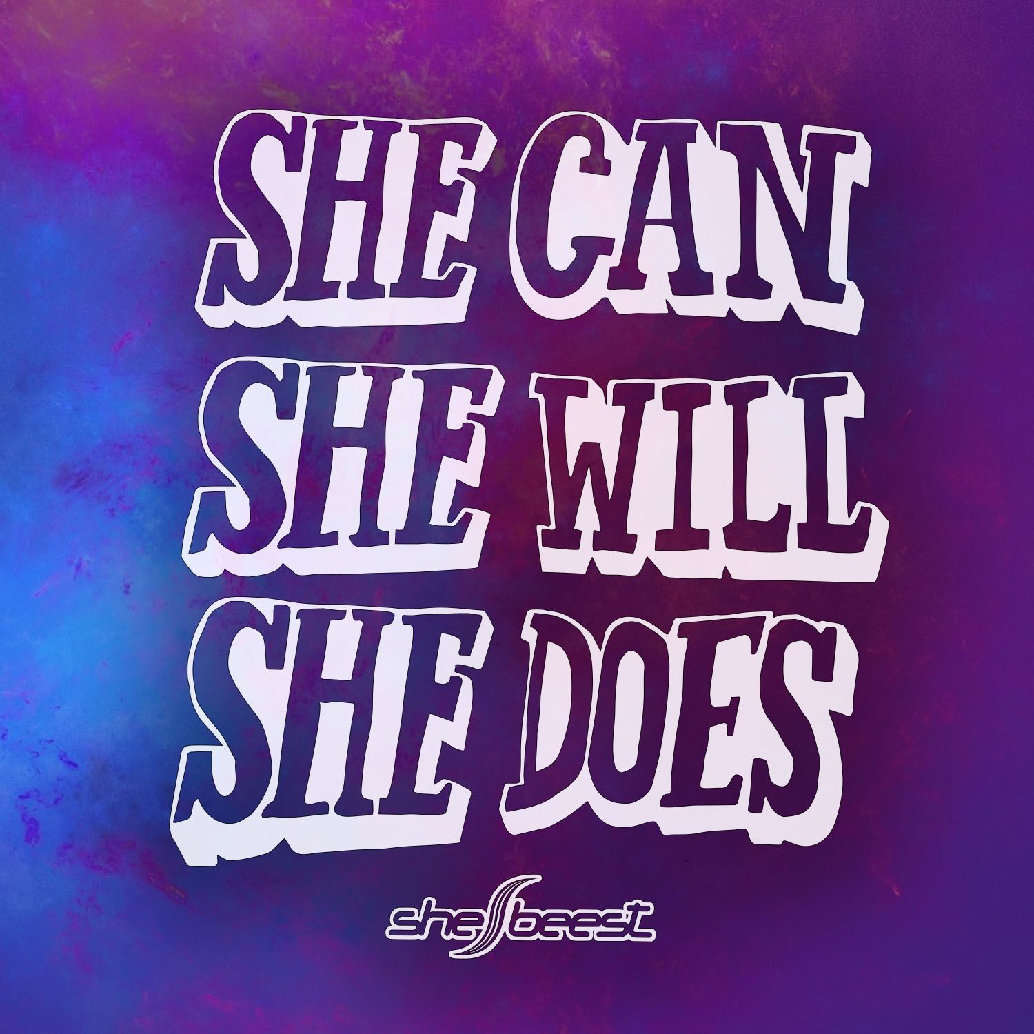 She Can. She Will. She Does. (More Awesome Art From