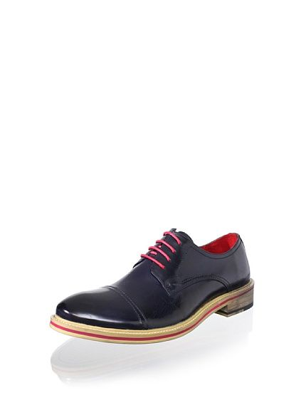 Steve Madden Mens Navy Andiee Oxford