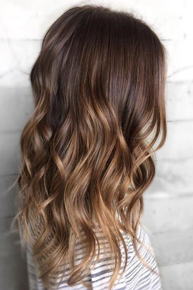 43 Hottest Brown Ombre Hair Ideas   Hair   Pinterest   Brown ombre     Brown ombre hair is all the rage this season  To give you some ideas which  shades to combine  we have a collection of photos