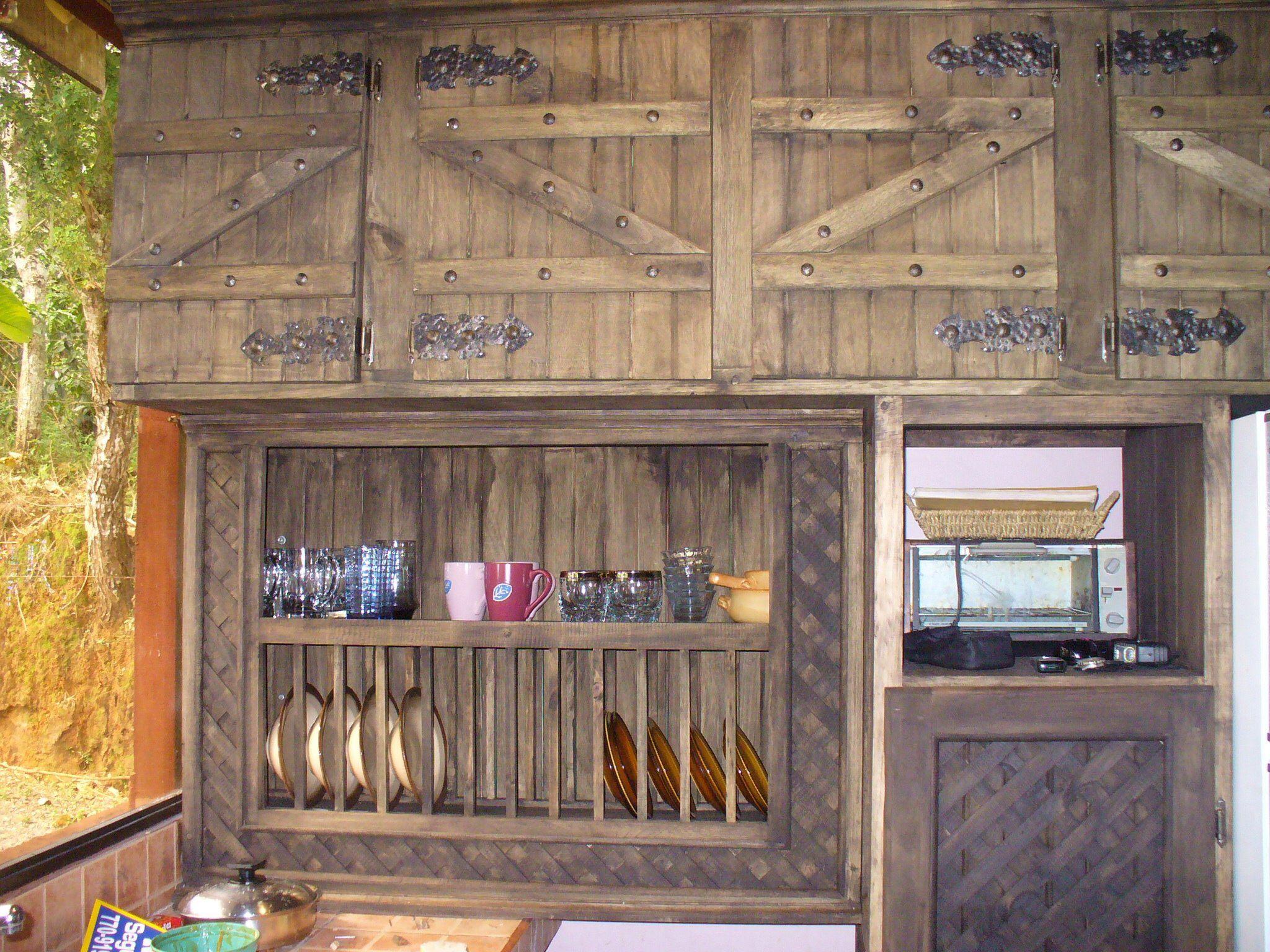 Mueble cocina con hierro forjado | Ideas para el hogar | Pinterest ...