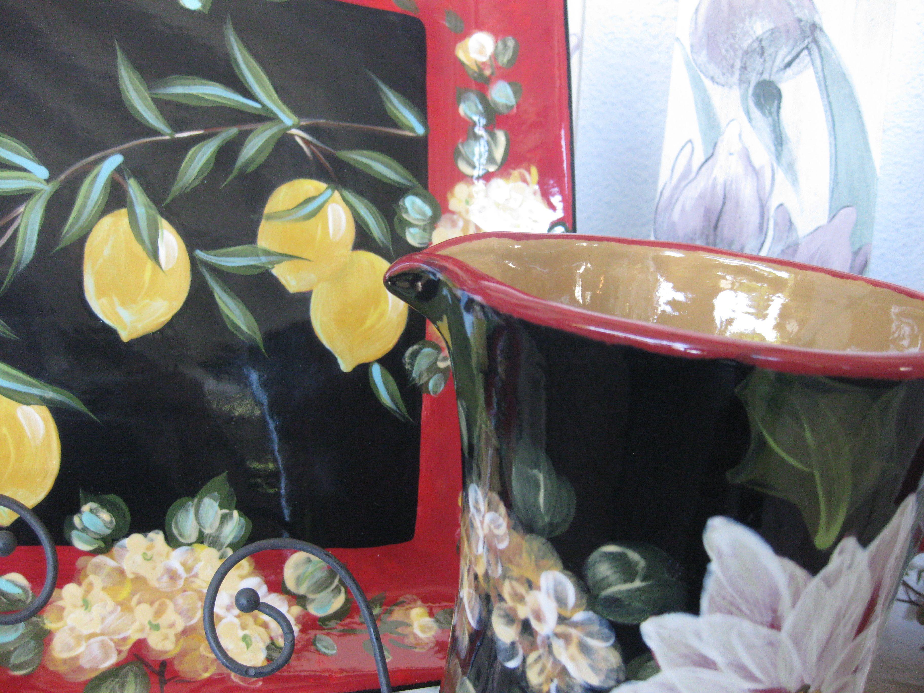 Lemons Lesal Custom Ceramics Pinterest Lemon