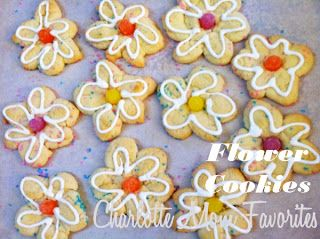 Flower Cookies - Make this a Spring Family Baking Tradition