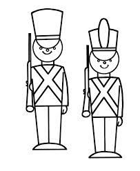 15+ Toy soldier clipart black and white info