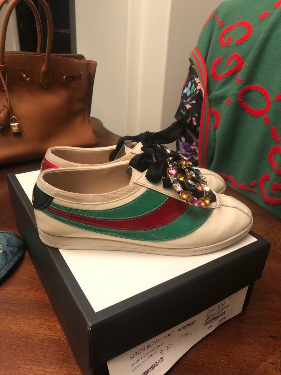 Authentic Gucci falacer Sneakers In