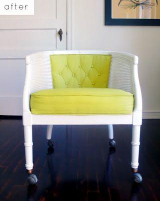 Wonderful Hayfield House: Club Chair DIY