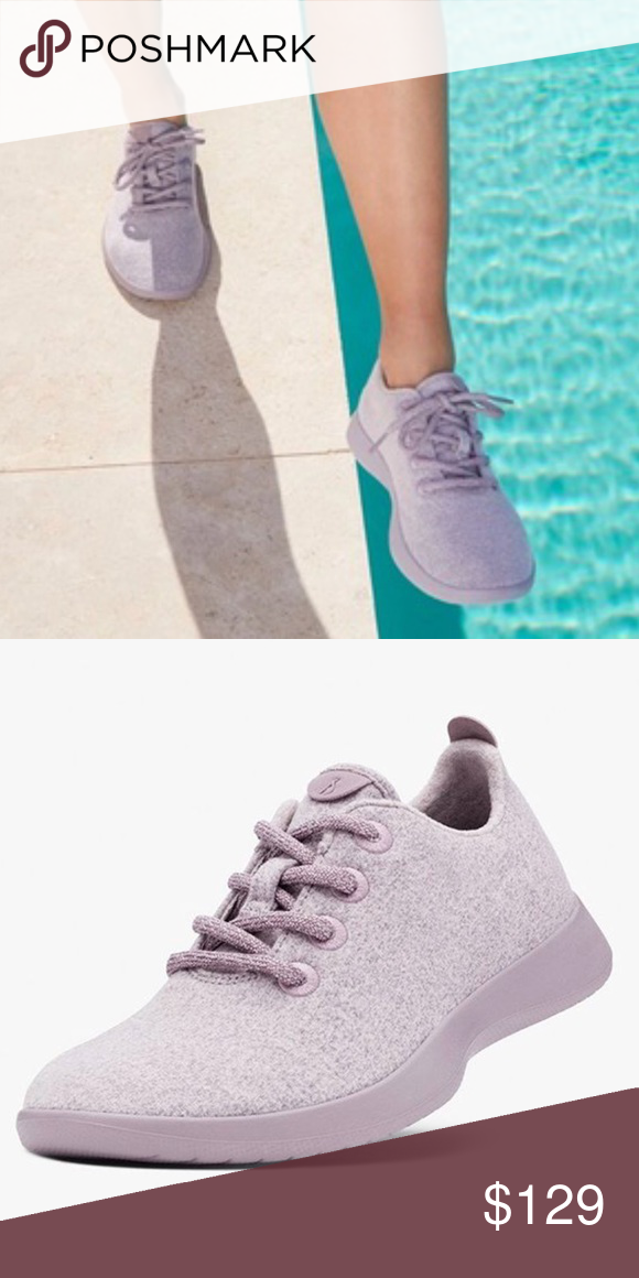 7942b08b5e5 AllBirds Wool Runners Kotare lavender Shoes NEW AllBirds Wool Runners  Kotare lavender Light Purple Sneaker Shoes NEW NEW without box or Tags May  have a ...