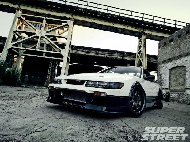 Black White Two Tone Paint Scheme Sbc Rx7 Nissan 240sx