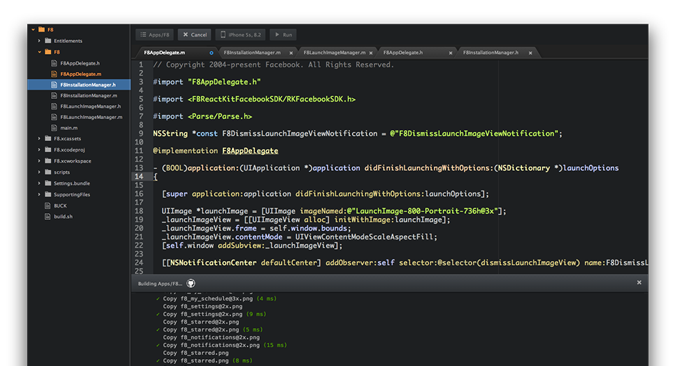 Nuclide - a unified IDE